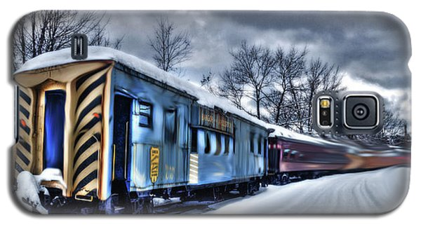 Ghost Train In An Existential Storm Galaxy S5 Case