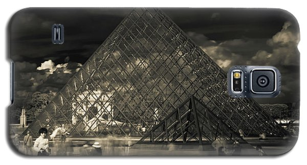 Ghosts Of The Louvre Galaxy S5 Case