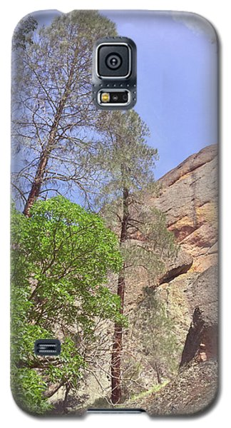 Galaxy S5 Case featuring the photograph Giant Boulders by Art Block Collections