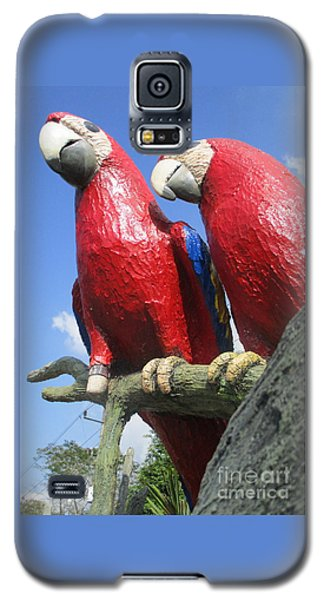 Giant Macaws Galaxy S5 Case by Randall Weidner