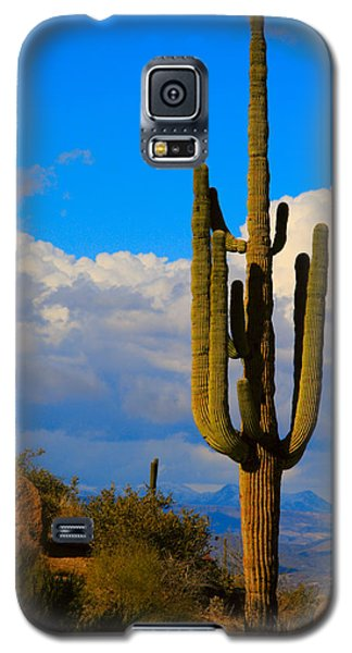 Giant Saguaro In The Southwest Desert  Galaxy S5 Case