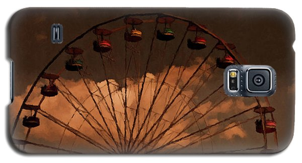 Galaxy S5 Case featuring the photograph Giant Wheel by David Dehner