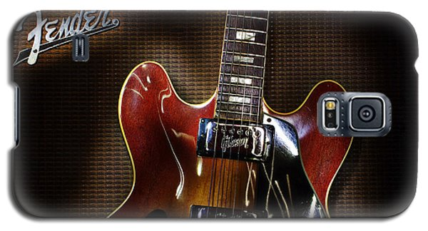 Galaxy S5 Case featuring the digital art Gibson 335 by Jim Mathis