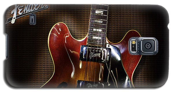 Gibson 335 Galaxy S5 Case by Jim Mathis