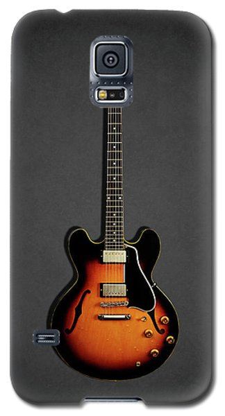 Music Galaxy S5 Case - Gibson Es 335 1959 by Mark Rogan
