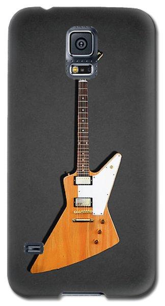 Guitar Galaxy S5 Case - Gibson Explorer 1958 by Mark Rogan
