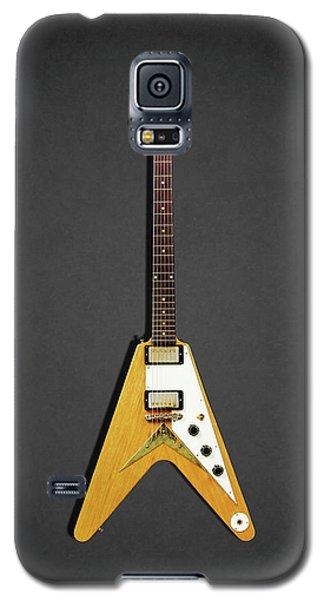 Guitar Galaxy S5 Case - Gibson Flying V by Mark Rogan