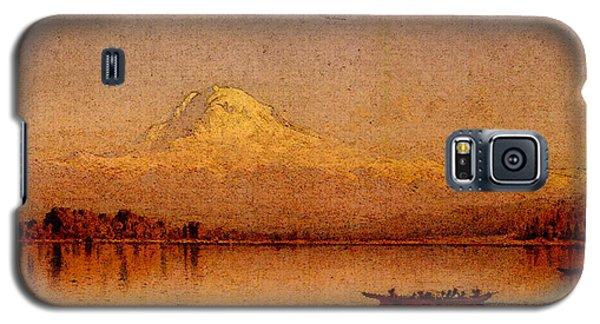 Gifford Sanford Robinson Mount Rainier Bay Of Tacoma Galaxy S5 Case