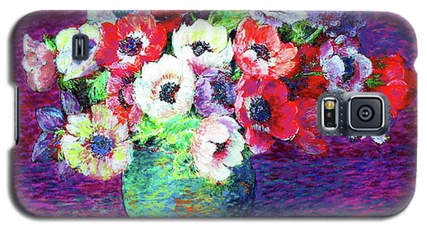 Gift Of Anemones Galaxy S5 Case by Jane Small