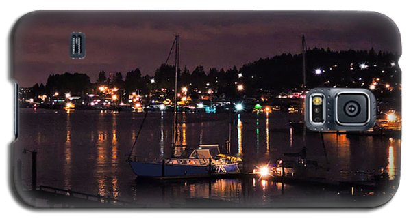 Gig Harbor At Night Galaxy S5 Case
