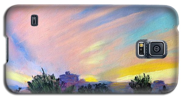 Gila Bend Sunset Galaxy S5 Case