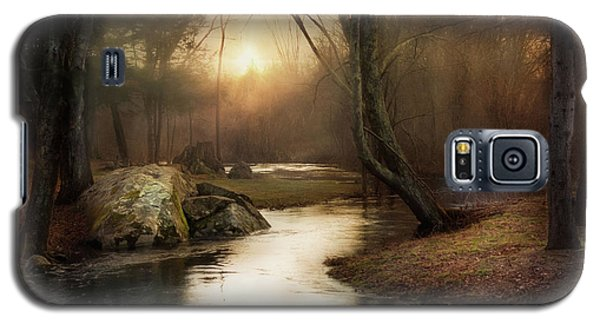 Galaxy S5 Case featuring the photograph Gilded Woodland by Robin-Lee Vieira