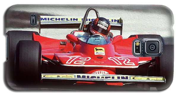 Gilles Villeneuve, Ferrari Legend - 01 Galaxy S5 Case