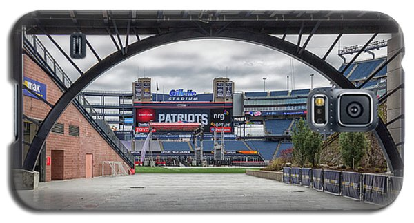 Gillette Stadium And The Four Super Bowl Banners Galaxy S5 Case