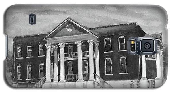 Gilmer County Old Courthouse - Black And White Galaxy S5 Case