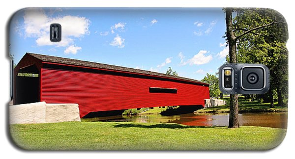 Gilpin's Falls Covered Bridge Galaxy S5 Case
