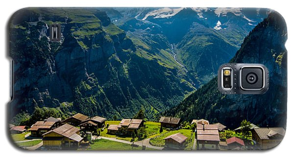 Gimmelwald In Swiss Alps - Switzerland Galaxy S5 Case