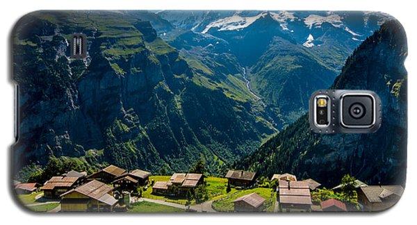 Gimmelwald In Swiss Alps - Switzerland Galaxy S5 Case