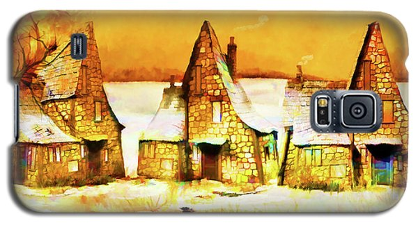 Gingerbread Cottages Galaxy S5 Case