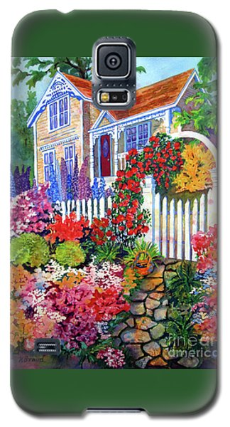 Gingerbread In Bloom Galaxy S5 Case