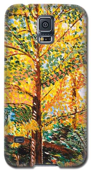 Gingko Tree Galaxy S5 Case by Valerie Ornstein