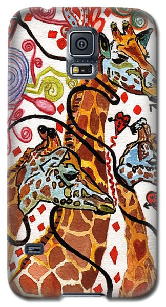 Giraffe Birthday Party Galaxy S5 Case