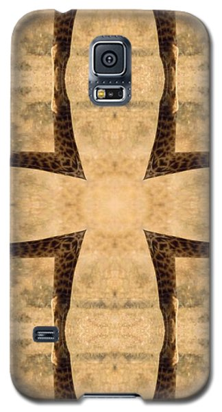 Giraffe Cross Galaxy S5 Case