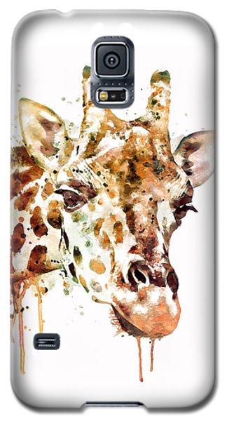 Giraffe Head Galaxy S5 Case