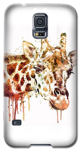 Giraffe Head Galaxy S5 Case by Marian Voicu