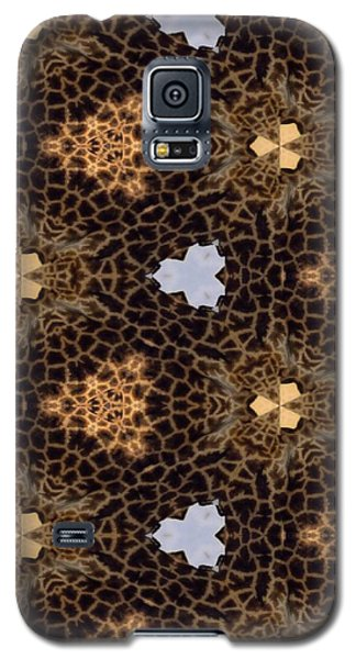 Giraffe II Galaxy S5 Case by Maria Watt