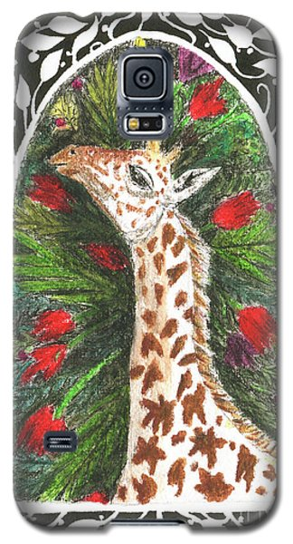 Giraffe In Archway Galaxy S5 Case