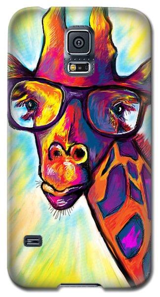 Giraffe Galaxy S5 Case by Julianne Black