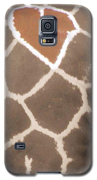 Giraffe Love Galaxy S5 Case