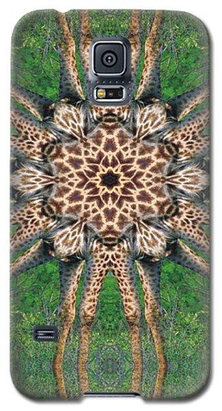 Giraffe Mandala II Galaxy S5 Case by Maria Watt