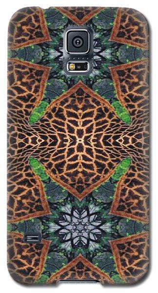 Giraffe Stars Galaxy S5 Case by Maria Watt