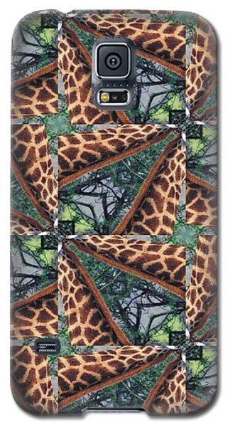 Giraffe Through The Window Galaxy S5 Case