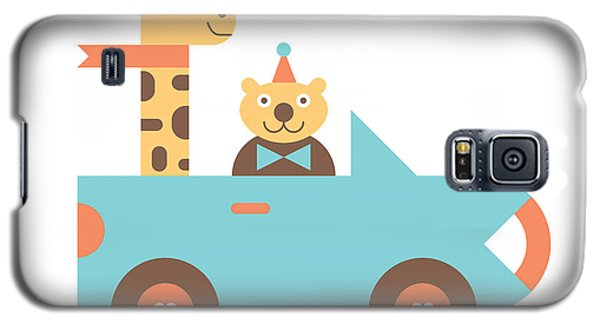 Truck Galaxy S5 Case - Animal Car Pool by Mitch Frey
