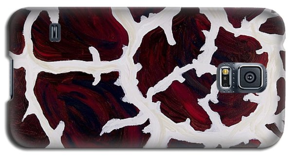 Galaxy S5 Case featuring the painting Giraffes Coat by Sheron Petrie