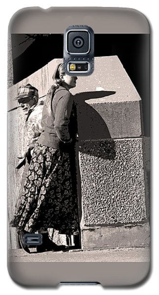 Girl And Dad Galaxy S5 Case
