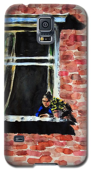 Girl At Window Galaxy S5 Case