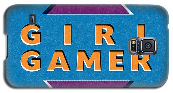 Girl Gamer Galaxy S5 Case