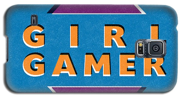 Girl Gamer Galaxy S5 Case