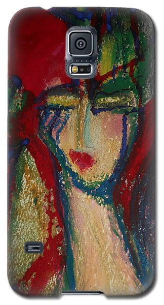 Girl In Darkness Galaxy S5 Case