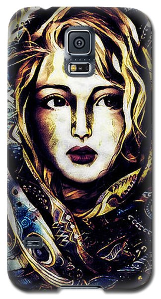 Girl In Hijab Galaxy S5 Case