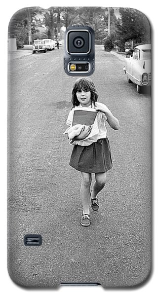 Girl On 13th Street, 1971 Galaxy S5 Case