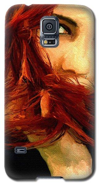 Girl Portrait 08 Galaxy S5 Case by James Shepherd