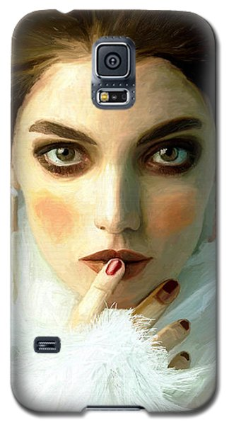 Girl Ready To Party Galaxy S5 Case