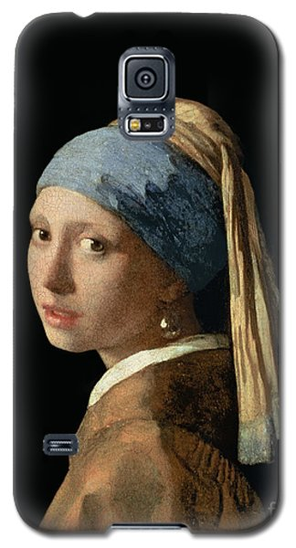 Portraits Galaxy S5 Case - Girl With A Pearl Earring by Jan Vermeer