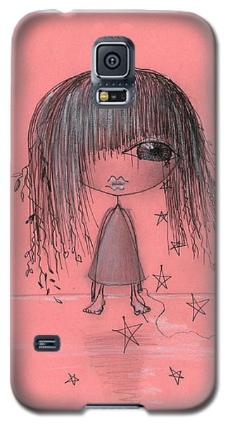 Girl With Griffin  Galaxy S5 Case