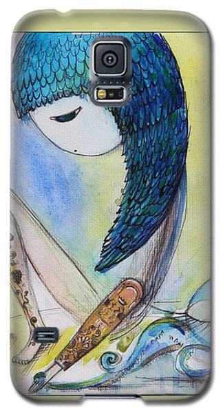 Girl With Octopus  Galaxy S5 Case